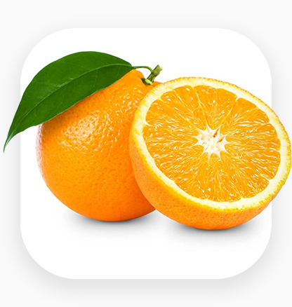 An icon for orange export